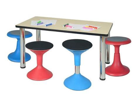 Wobble Stools For Students by Glow Labs And Science On