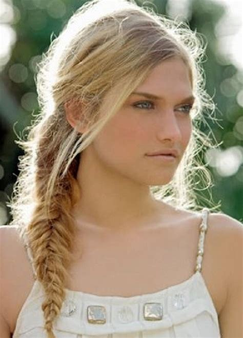fishtail braids hairstyles fishtail braid hairstyles weekly