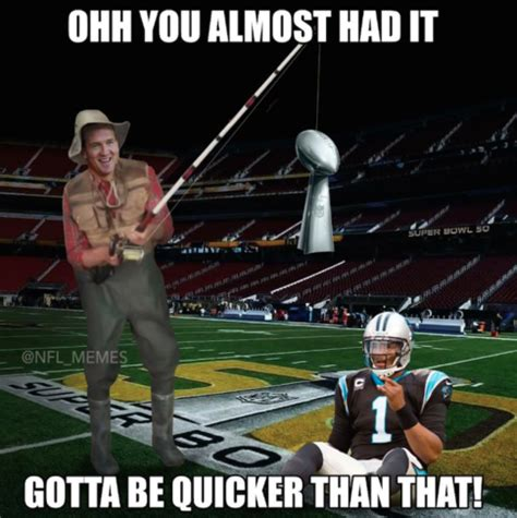 Funny Panthers Memes - the cam newton memes went wild after the panthers lost super bowl 50 see some of the best