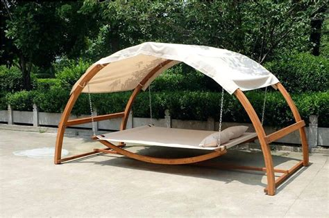 covered hammock bed wooden swing bed pop up sofa bed patio bed furniture best