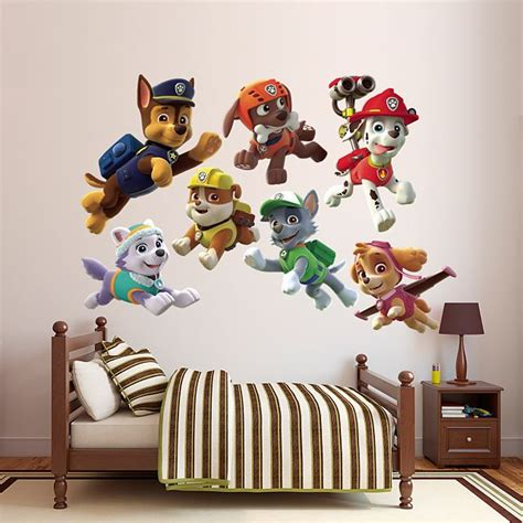 sons paw patrol bedroom images  pinterest