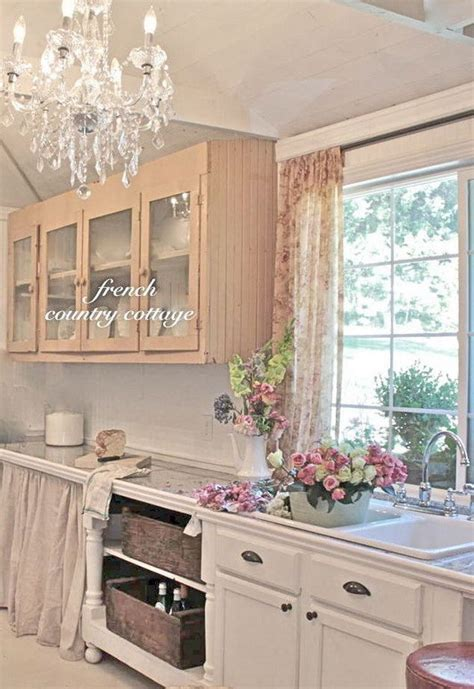 shabby cottage chic 35 awesome shabby chic kitchen designs accessories and