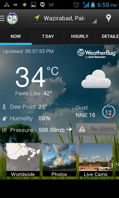 weatherbug app for android ultimate list of android weather apps 2013 coming more
