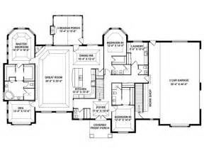 House Plans Open Floor Plan One Story by 403 Forbidden