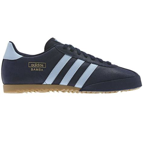 adidas size adidas originals bamba trainers black blue shoes sneakers