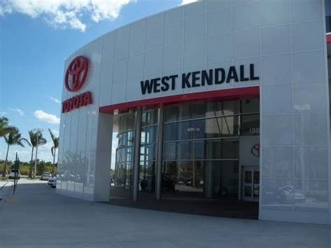 West Kendall Toyota Service West Kendall Toyota Miami Fl 33186 Car Dealership And