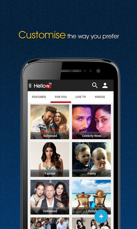 free tv on mobile hellotv free live mobile tv android apps on play
