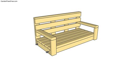 swing bench plans porch swing drawings joy studio design gallery best design