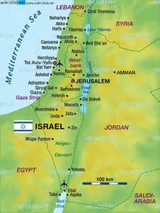 World Map Israel by Map Of Israel Map In The Atlas Of The World World Atlas