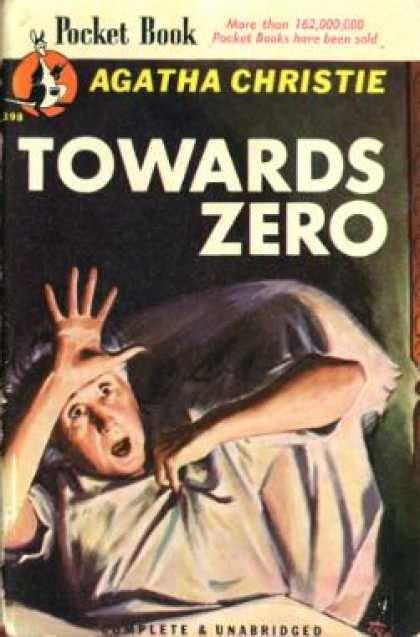 towards zero agatha christie pocket book covers 1150 1199