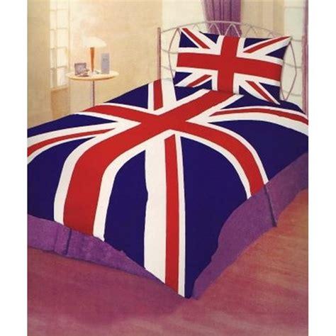 union jack single duvet bedroom set