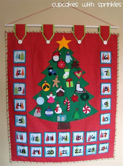 Handmade Fabric Advent Calendar - best 25 advent calendars ideas on
