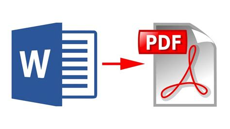 Conversion Of Word Document Into Pdf Format