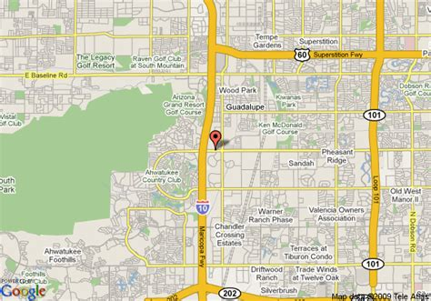 us map tempe arizona map of country inn and suites tempe tempe