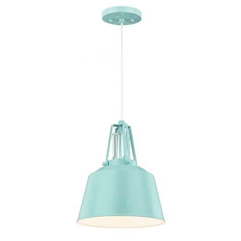 Feiss Freemont 1 Light Hi Gloss Blue Mini Pendant Blue Mini Pendant Light