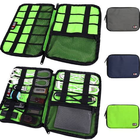 Travel Pouch Kalibre Axure 02 large cable organizer bag can put drive cables usb flash drives travel in cable winder