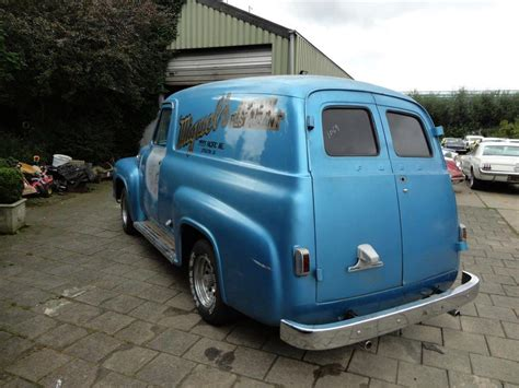 58 Ford Truck by Ford Up Panel Truck 58