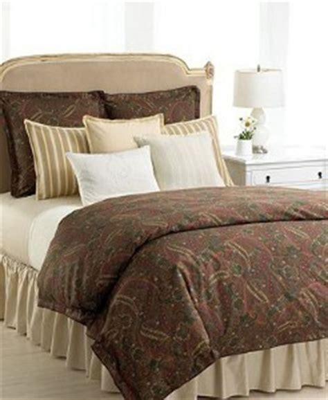 brown paisley comforter ralph lauren quot rue des artistes quot paisley king comforter