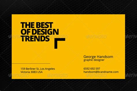 yellow business card template free 44 yellow business card templates free psd vector designs