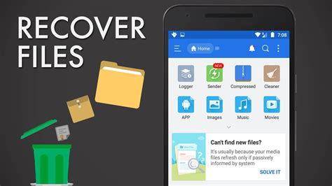 how to recover deleted pictures on android how to recover deleted files from android 5 methods