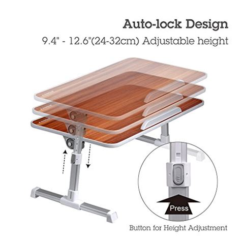 adjustable couch tray avantree quality adjustable laptop portable