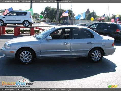 2001 Kia Optima 2001 Kia Optima Se V6 Silver Gray Photo 6