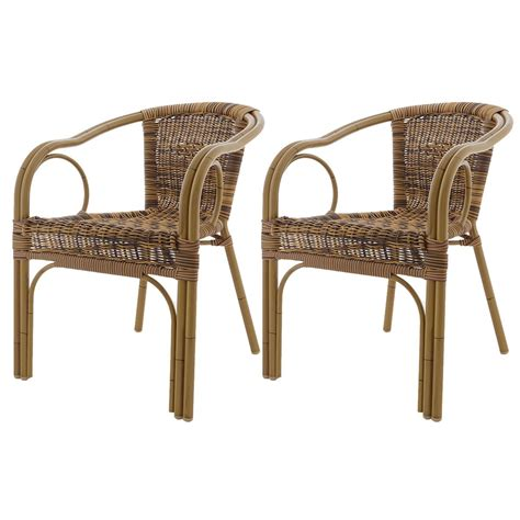 Outdoor Wicker Armchair Garden Furniture