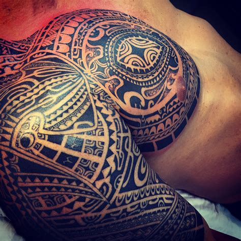 samoan tribal turtle tattoos mike tatau certified artist