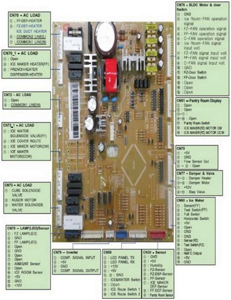samsung refrigerator compressor wiring diagram wiring