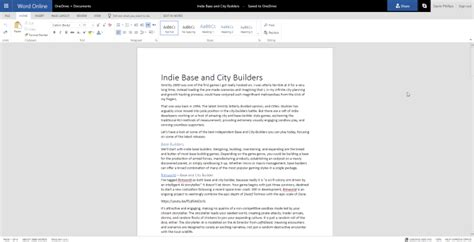 Word Document Editor Free