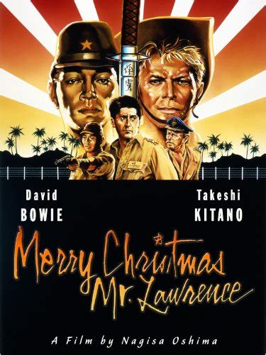 amazoncom merry christmas  lawrence david bowie tom conti ryuichi sakamoto takeshi