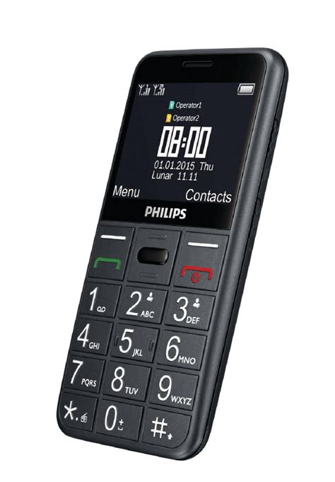 Hp Philips Xenium E160 Dual Sim philips e310 e160 feature phones launched in india