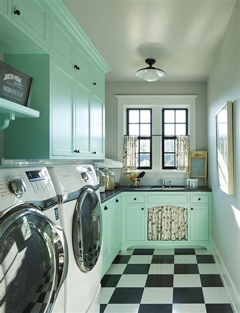 retro laundry room decor laundry room house of hargrove