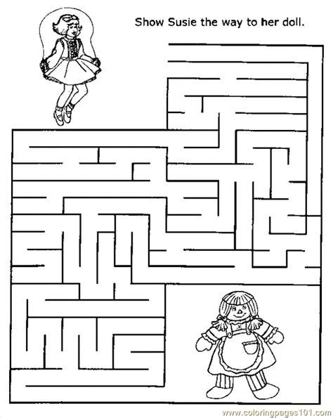 printable maze colouring pictures maze 04 coloring page free printable coloring pages
