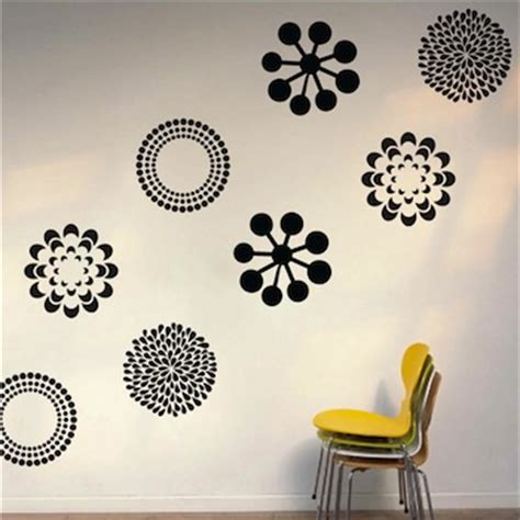 pretty wall stickers pretty wall decals floral decals from trendy wall designs
