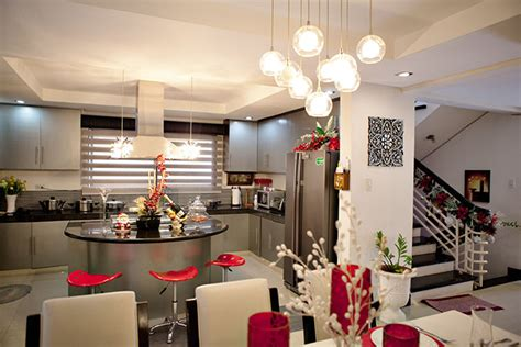Modern Island Kitchen Maja Salvador S Kitchen And Dining Area In Her Antipolo
