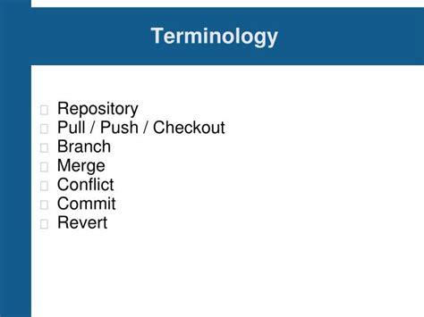 linux tutorial powerpoint ppt git tutorial powerpoint presentation id 1229138