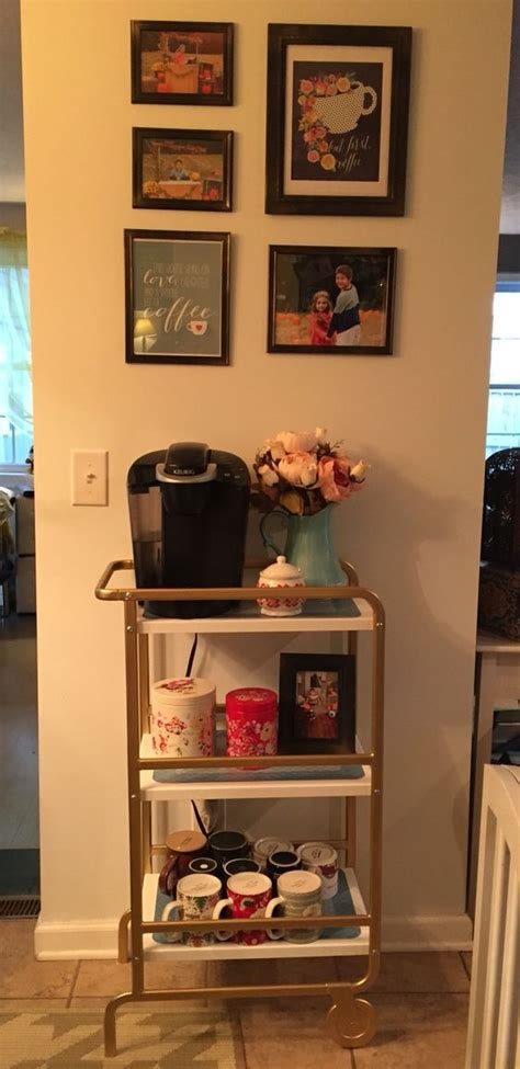 sunnersta ikea hack coffee carts coffee and sprays on pinterest