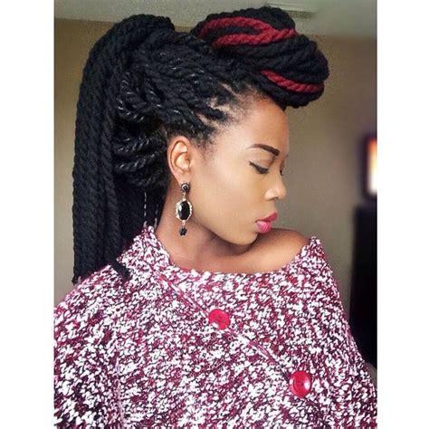 Yarn Braid Hairstyles by Yarn Twists Ideas Styles Tips Goals For Black Hair