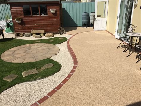 Resin Patio Pavers Oltco Resin Bound Gravel Driveways Cornwall Our Services Resin Bound Gravel Footpaths