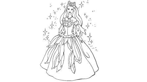 barbie coloring pages youtube learn colors l barbie princess pauffer coloring pages l