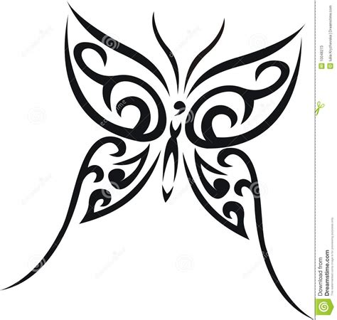 tribal tattoo butterfly butterfly and tribal tailbone