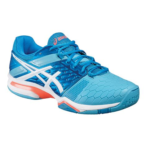 asics s gel blast 7 indoor court shoes blue white
