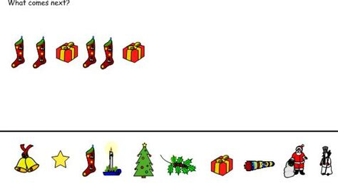 christmas pattern eyfs 45 best christmas maths images on pinterest christmas