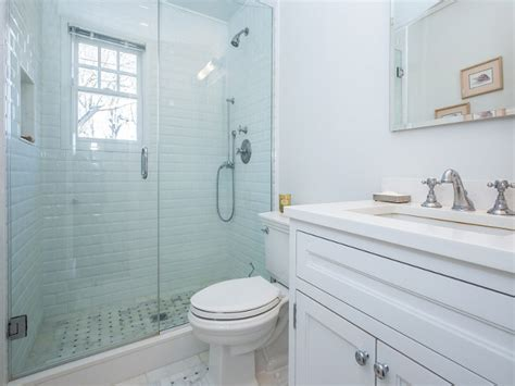 small white bathroom shingle sag harbor cottage with coastal interiors home