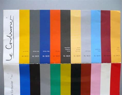 Le Corbusier Farben by Le Corbusier E Suas Cores And His Colors Le Corbusier