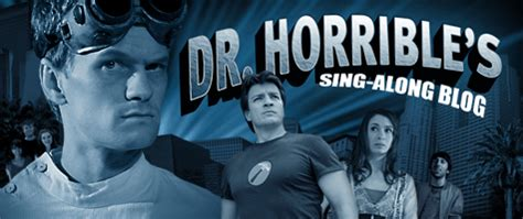 dr horribles sing along blog tv review doctor horrible s sing along blog lady geek