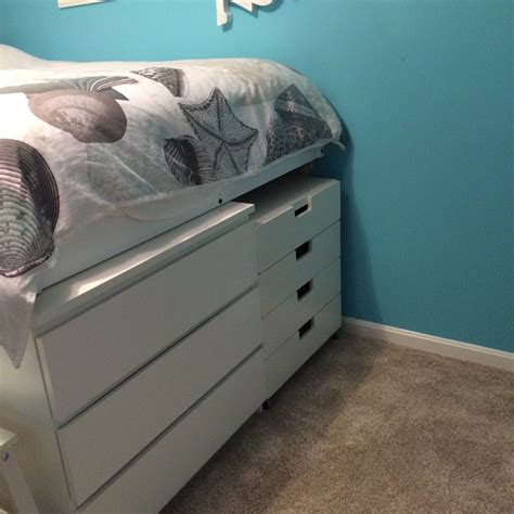 malm bed hack malm platform storage bed ikea hackers ikea hackers