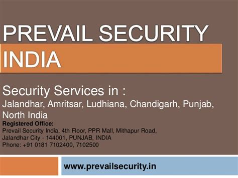 best security agency in jalandhar prevail security india