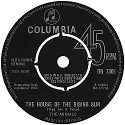 the animals the house of the rising sun the house of the rising sun ויקיפדיה